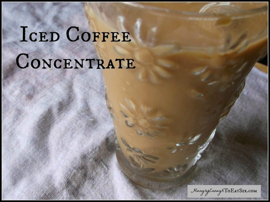 Iced Coffee Concentrate