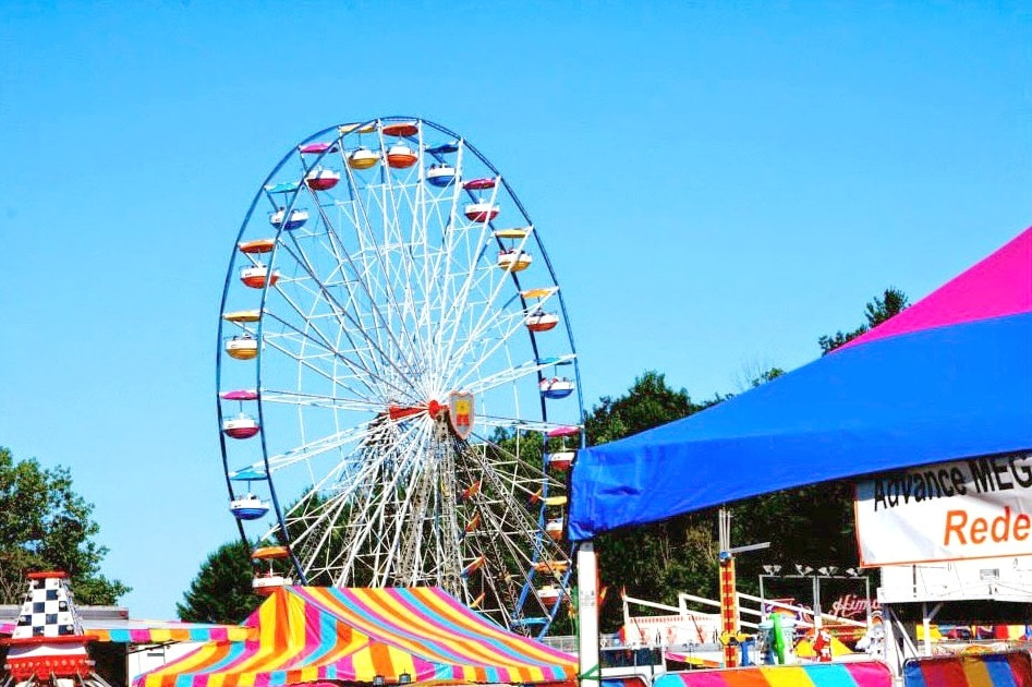 Image of Ferris Wheel at Champlain Valley Fair