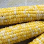 Image of ears of cooked corn