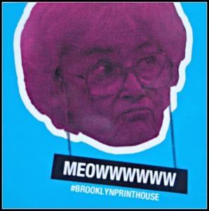 Meowwwww by Brooklyn Print House