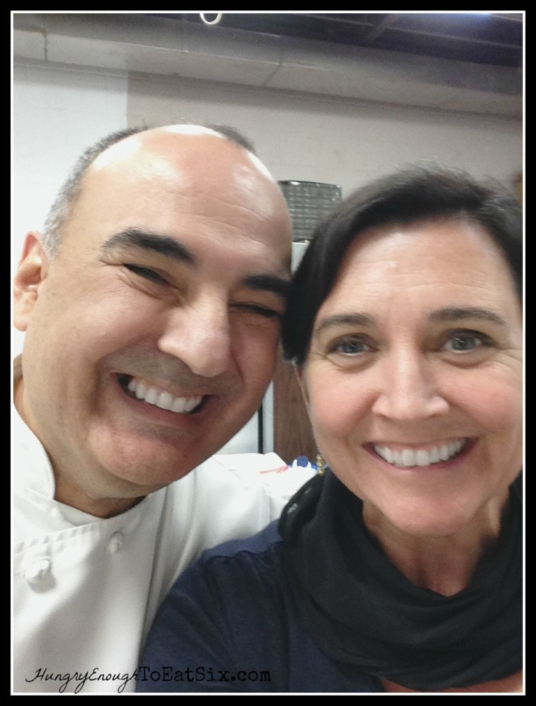 Chef Eric Villegas and Field Editor Nancy Mock!