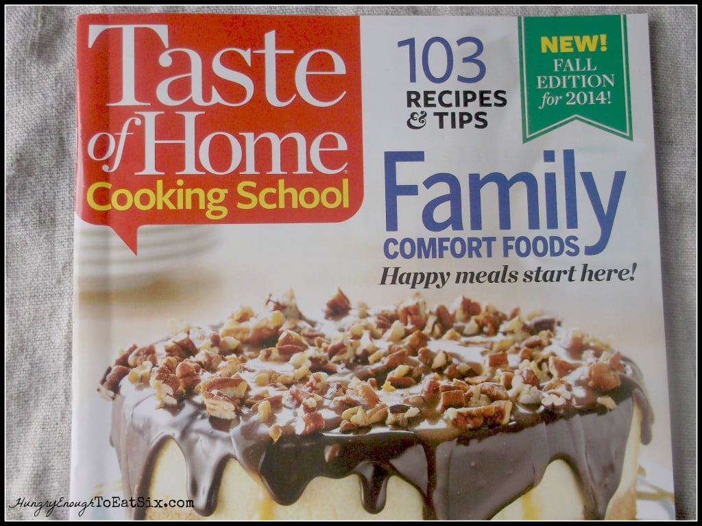 TOH Cooking School Magazine from the show!