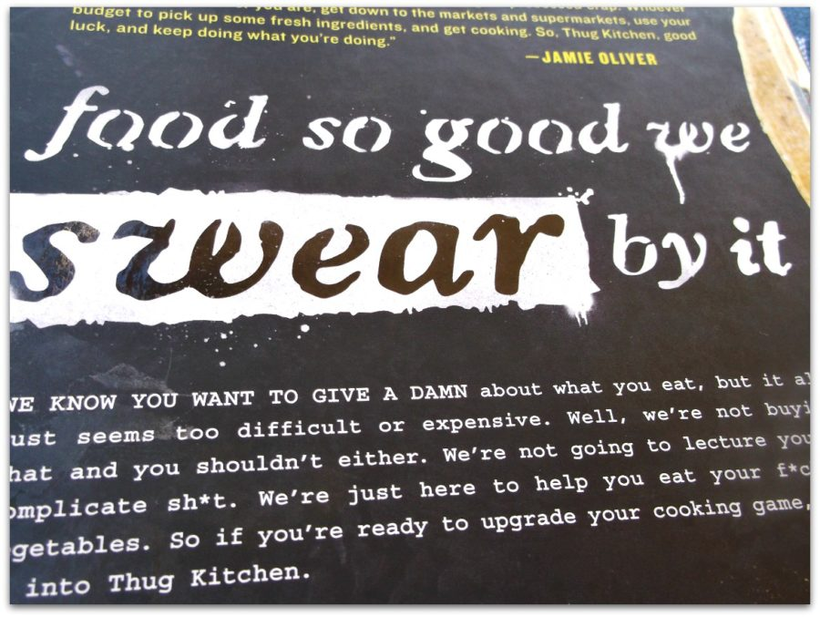 This is my review of The Thug Kitchen Cookbook, which challenges you to eat better!