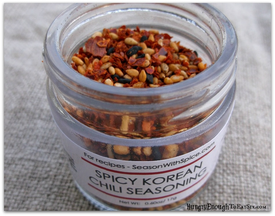 Spicy Korean Chili Seasoning