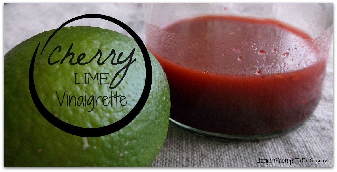 Cherry Lime Vinaigrette