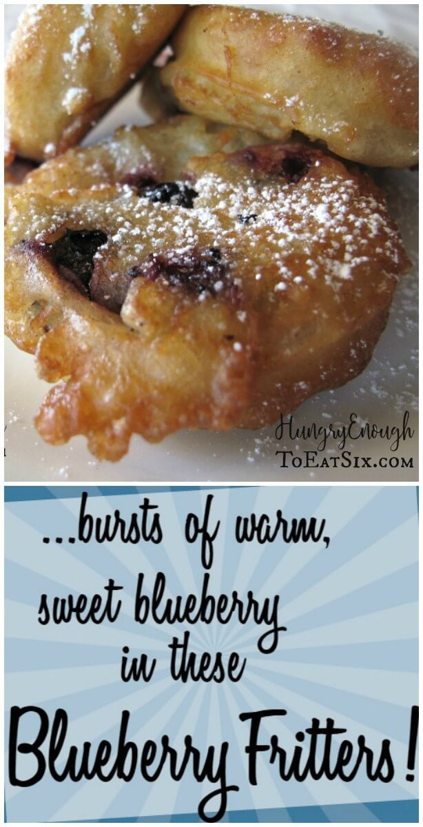 These Blueberry Fritters taste like a cross between pancakes and fried dough.