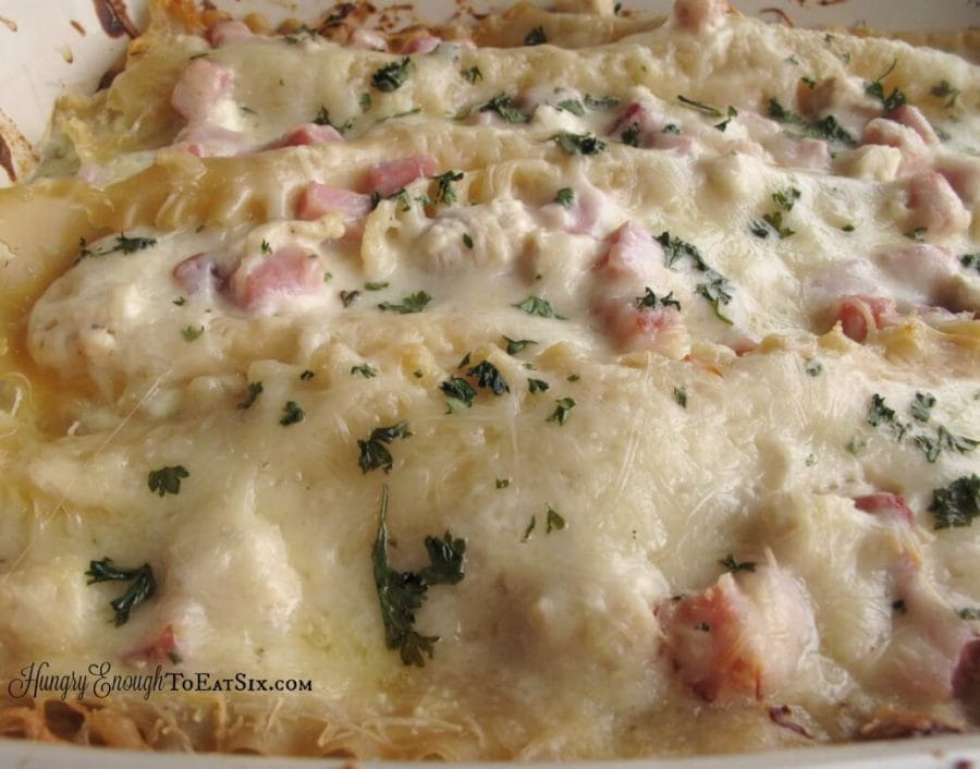 Our friendly competition and eight delicious lasagna variations that we created!