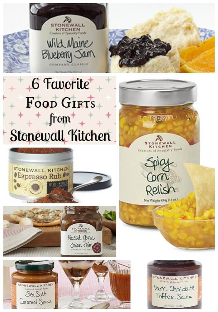 The best food gifts come from Stonewall Kitchen! They've been tempting folks for decades with their indulgent flavors, in jams, syrups, salsas, and more.