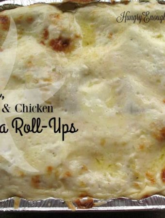 A savory and indulgent variation on traditional lasagna flavors, rolled up and baked with plenty of cheese.