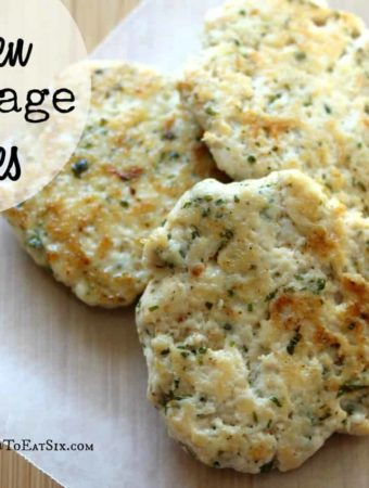 These Chicken Sausage Patties are perfect to have on hand for a savory, hearty breakfast.