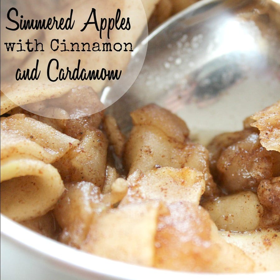 Image of SImmered Apples With Cinnamon and Cardamom