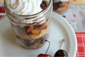 Deep red cherries and blushing nectarines are layered with rich, sweet whipped cream and homemade shortcakes. It is a fresh and tempting dessert!