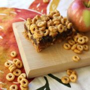 Image of Pumpkin Spice Cheerios and Apple Bars