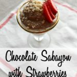 A rich, chocolate mousse that comes together quickly, and is an incredibly delicious dessert!