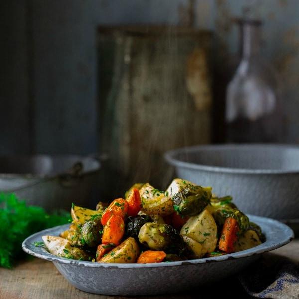 http://www.healthyseasonalrecipes.com/roasted-root-vegetables-spring-herbs/
