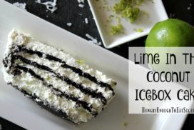 You put the lime in the coconut... and put them both in this sweet and creamy, no-bake icebox cake!