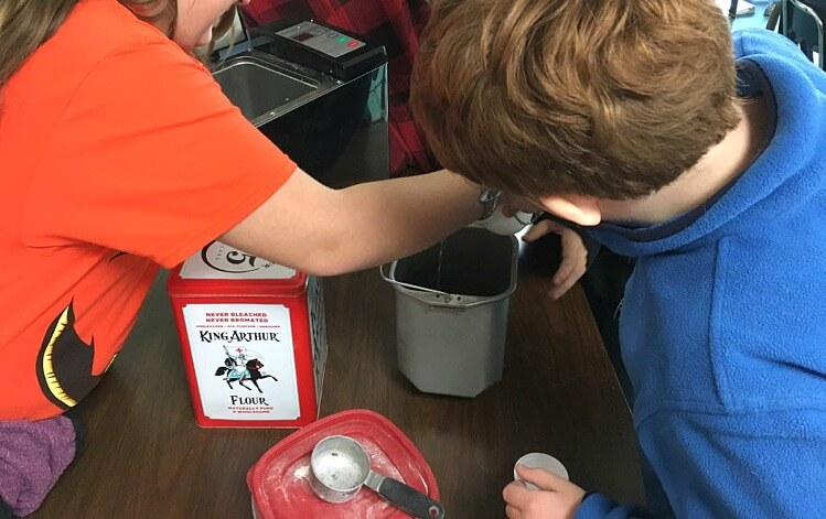 Bake For Good! Sharing the love of baking, by baking bread in an elementary classroom!