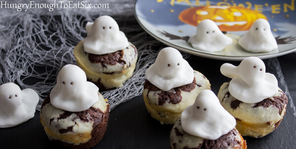 Ghostly Good Chocolate Brownies
