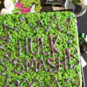avengers-themed-treats-hulk-crispy-rice-treats-hungryenoughtoeatsix