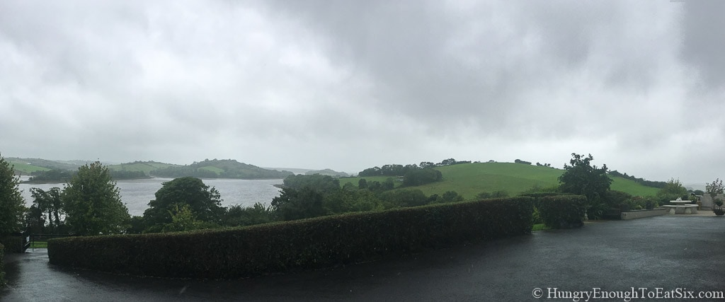 View from Rossmore Manor in Donegal, Ireland