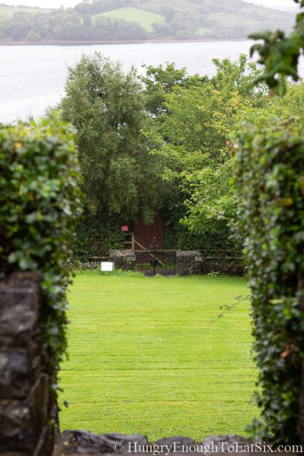 Image of garden doorway at Rossmore Manor, Donegal