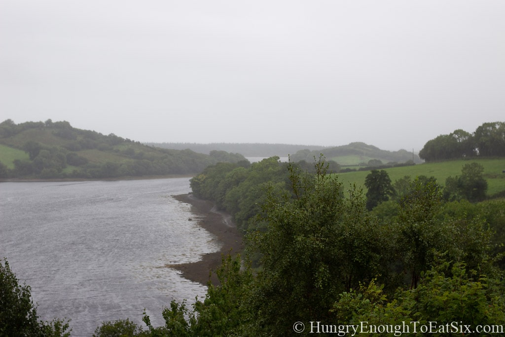 View of inlet from Rossmore Manor, Donegal