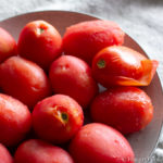 Image of peeled tomatoes