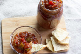 Image of Chilli Sauce in a jar and in a dish