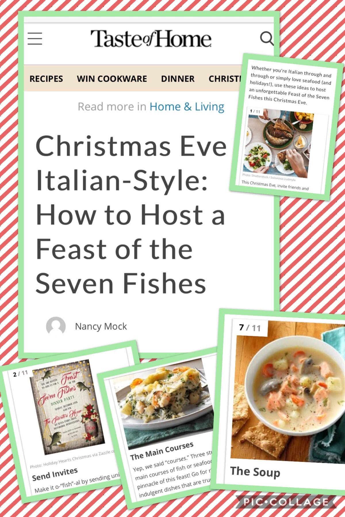 7 Fishes Christmas Eve Italian Recipes.How To Host A Christmas Eve Feast Of The Seven Fishes An