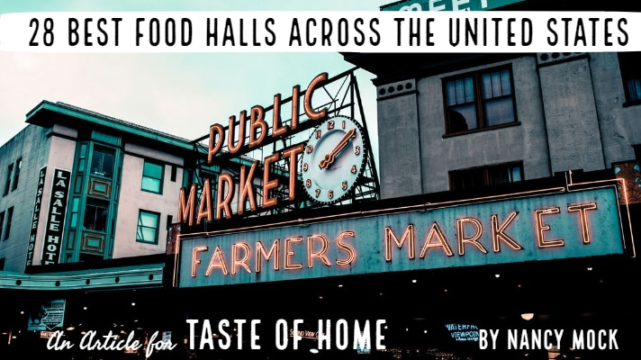 Image of Pike Place Market in Seattle WA.