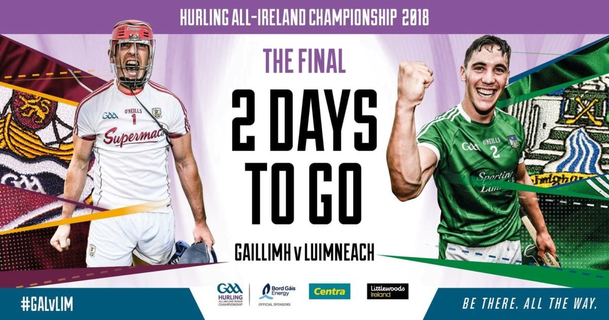 Banner for Hurling game event