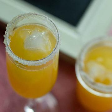 Fuzzy Navel Margarita.HungryEnoughToEatSix.com
