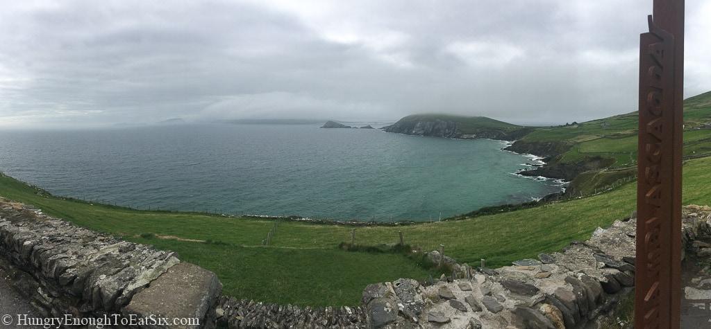 View of an ocean bay