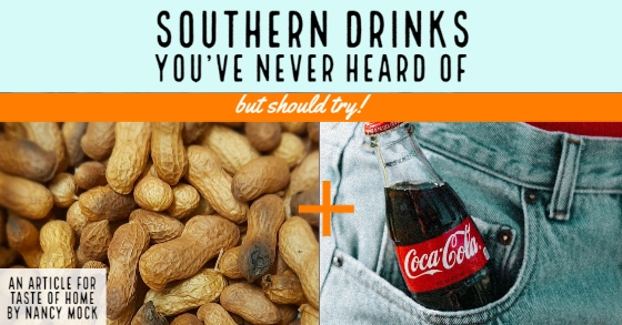 Peanuts and a bottle of Coke.