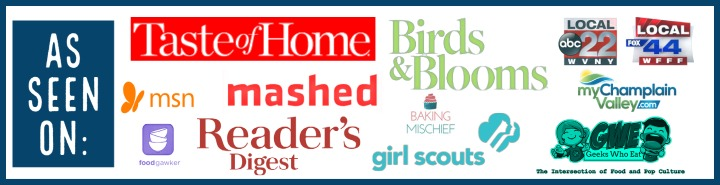 Banner with website logos